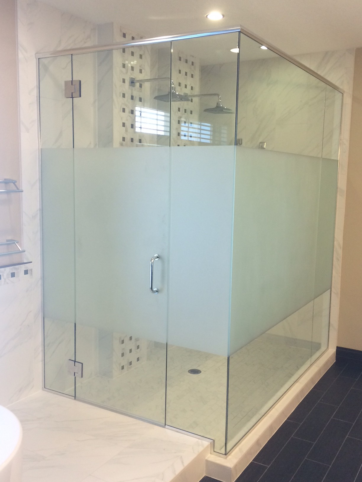 Custom Glass Shower Installations